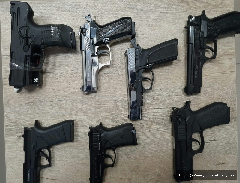 1 Ayda 113 Silah Ele Geçirildi