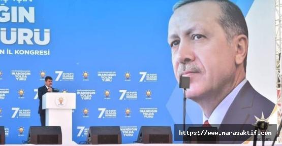 AK Parti Kahramanmaraş Kongresi Başladı