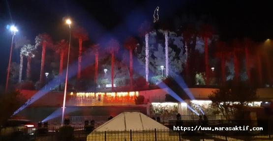 Bayrak Olayının Yıl Dönümüne Özel Işık Gösterisi