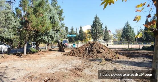 BM'den Dulkadiroğlu'na Park ve Bahçe