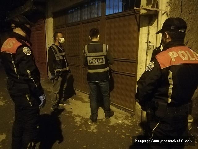 Kahramanmaraş'ta 99 Kişi Yakalandı