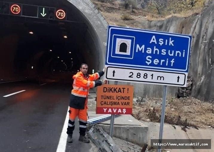 Kahramanmaraş Tünellerine İsimleri Verildi