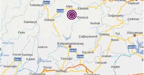 Kahramanmaraş'ta Aynı Günde İki Deprem