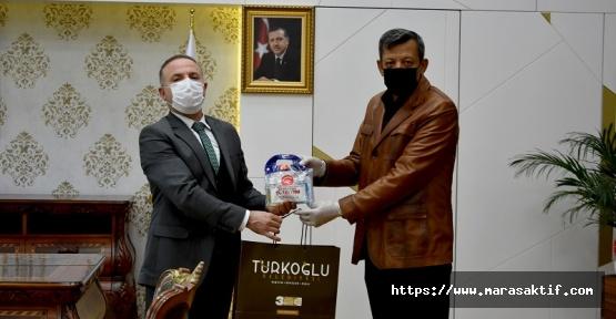 Türkoğlu'nda Hijyen Seti Dağıtıldı
