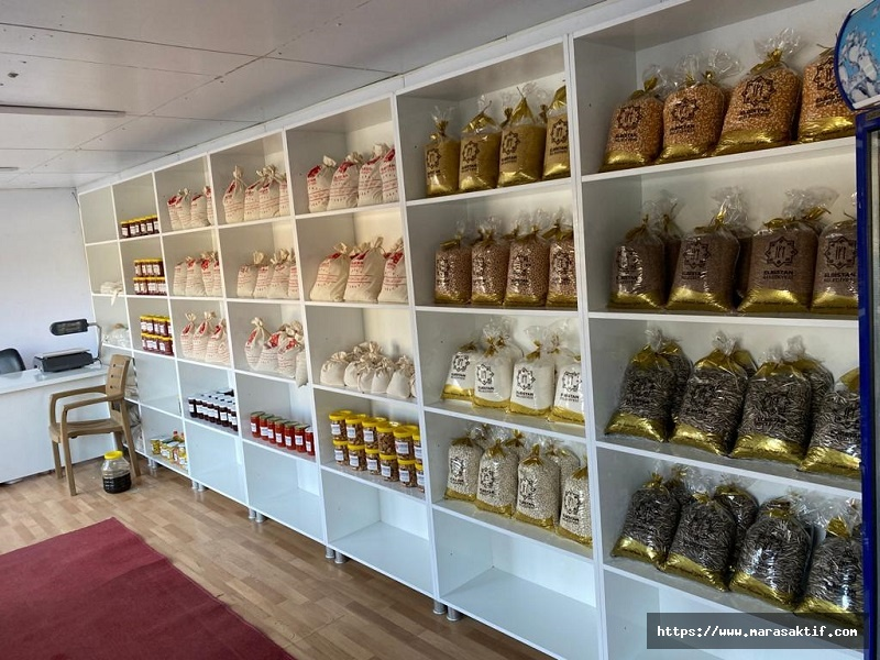 Elbistan'da Tanzim Satış Noktası Açıldı