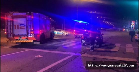 Kahramanmaraş'ta Zincirleme Kaza 1'i Ağır 3 Yaralı