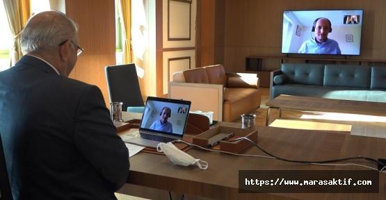 Mahçiçek, AIPH Genel Sekreteri ile Görüştü