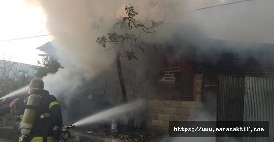 Türkoğlu'nda Yangın Çıktı