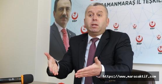 Yardımcıoğlu: Partilere Verilen Destek Esnafa Verilsin