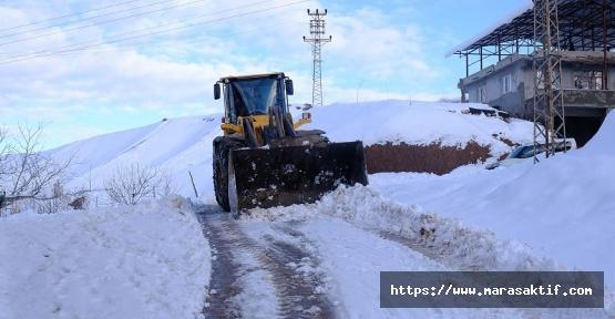 Dulkadiroğlu'nda Kar Çalışmaları