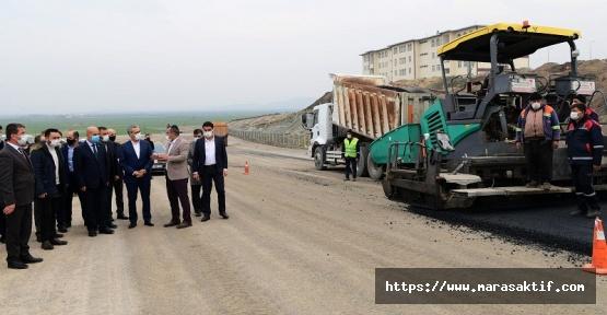 Güngör Türkoğlu'nda Çalışmaları İnceledi