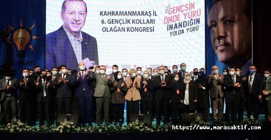 Kahramanmaraş AK Parti Gençlik Kolları Kongresi Yapıldı