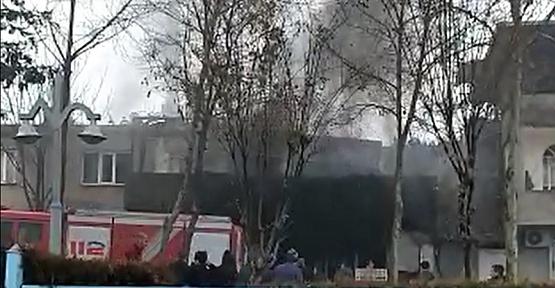 Kahramanmaraş'ta İşyerinde Yangın Çıktı