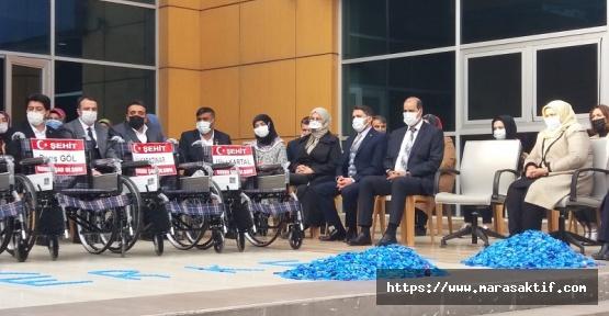 Tekerlekli Sandalyeler Şehit İsimleriyle Dağıtıldı
