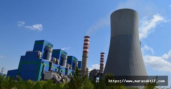 Termik Santralde Enerji Üretimi Durdu