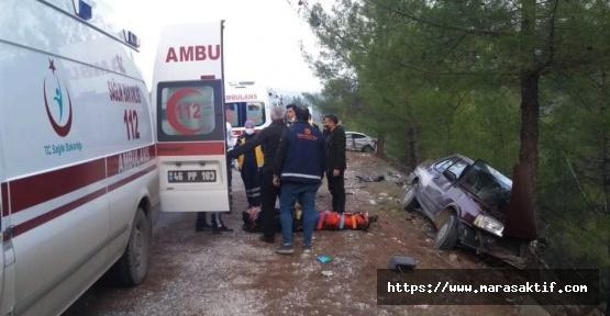 Trafik Kazasında5 Kişi Yaralandı