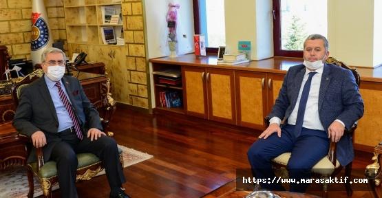 Yardımcıoğlu, Rektör Can'ı Ziyaret Etti