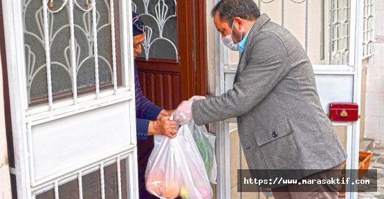 Büyükşehir Kısıtlamalarda Yaşlıları Yalnız Bırakmadı