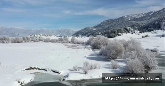 Kahramanmaraş'ta Kar Manzarası