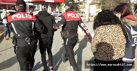 Kahramanmaraş'ta Oto Hırsızları Tutuklandı