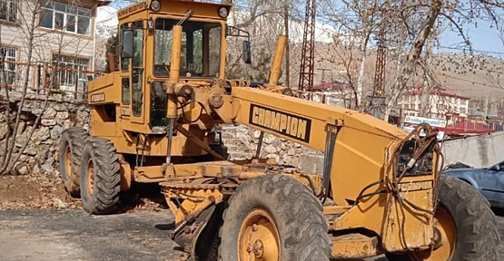 Nurhak Belediyesi İş Makinelerini Satıyor