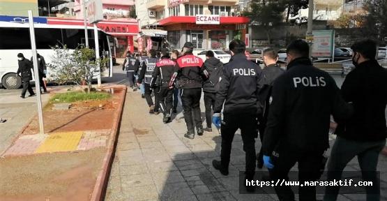 Kahramanmaraş'ta 85 Kişi Gözaltına Alındı
