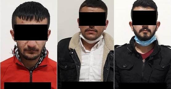 Oto Hırsızları Tutuklandı