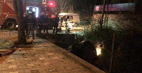 Kahramanmaraş'ta Kanala Düşen Sürücü Öldü