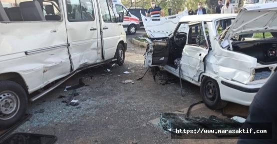 Kahramanmaraş'ta Kaza 1 Ölü 1 Yaralı