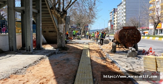 Pazarcık'ta Yenileme Çalışmaları Sürüyor