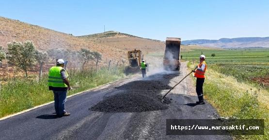 Büyükşehir Türkoğlu'nun Yollarını Yeniliyor