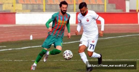 Kahrammaraşspor 4-1 Mağlup Oldu