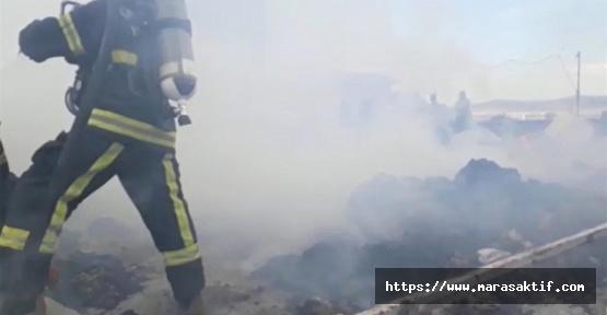 Çırçır Deposunda Yangın Çıktı