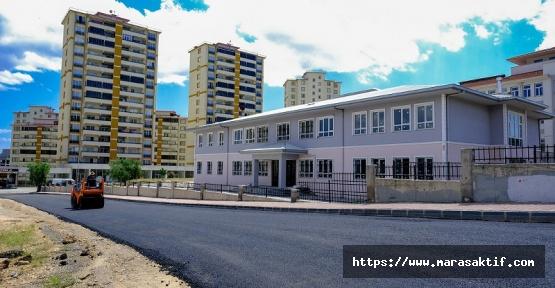 Dulkadiroğlu'nda Asfalt Çalışmaları