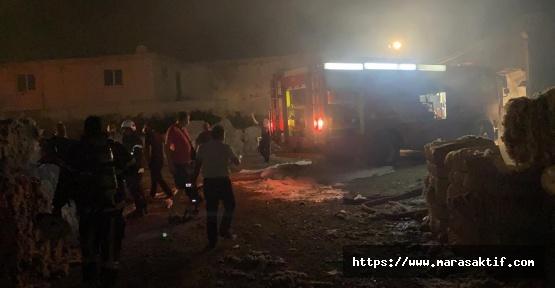 Fabrikanın Deposunda Yangın Çıktı