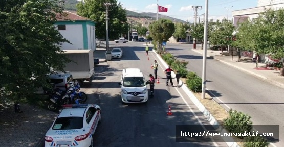 Jandarma Trafikten Droneli Denetim