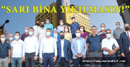 Kahramanmaraş'ta 5 Partinin İlçe Başkanları İsyan Etti