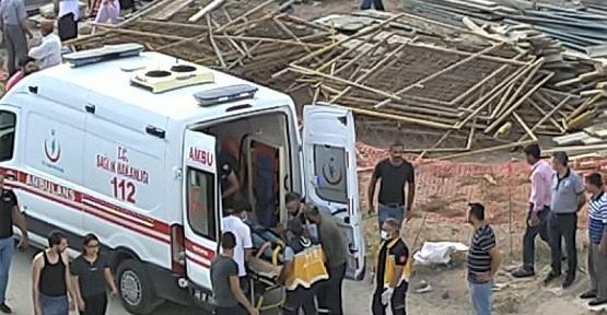 İşçi 4. Kattan Düştü