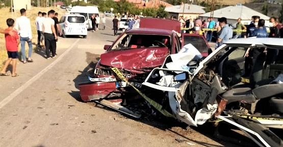 Kahramanmaraş'ta Feci Kaza 1 Ölü 6 Yaralı