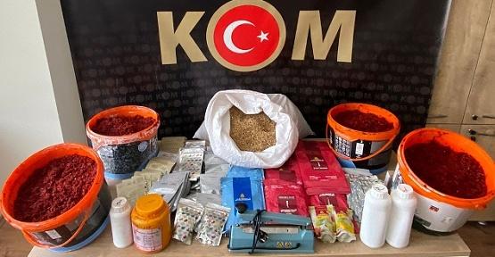 Kahramanmaraş'ta Tütün Operasyonu