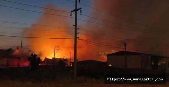 Kahramanmaraş'ta 4 Fabrika 2 Depo Kül Oldu