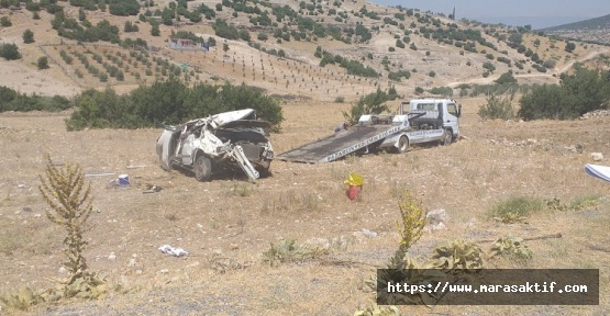 Otomobil Takla Attı 3'ü Ağır 7 Yaralı