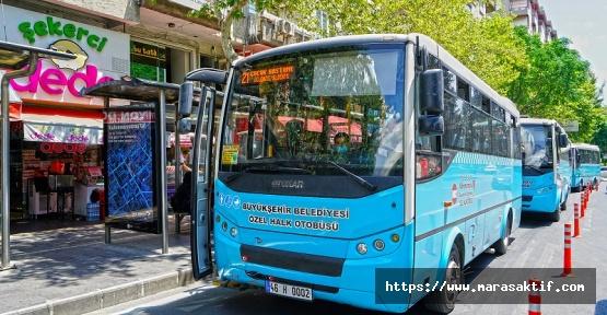 Özel Halk Otobüslerine 25 Milyon Destek