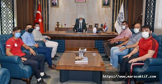 Pehlivanlar Başkan Aydın'ı Ziyaret Etti