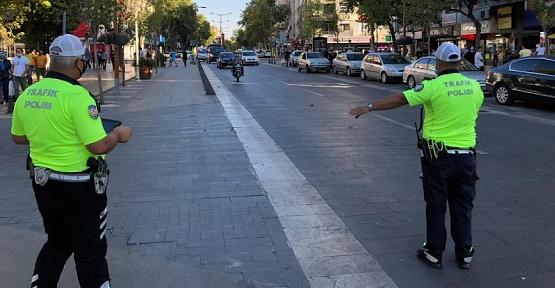 Kahramanmaraş'ta 45 Araç Yasaklandı