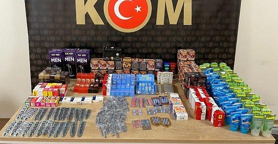 Kahramanmaraş'ta Cinsel Ürün Operasyonu