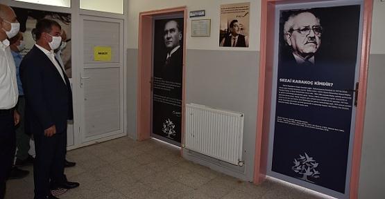 Türkoğlu Belediyesi Ceceli Okulunda Bakım Yaptı
