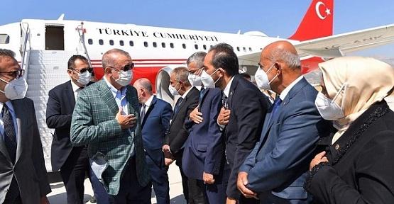 Cumhurbaşkanı Kahramanmaraş'a Geldi
