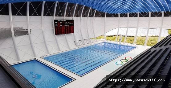 Kahramanmaraş'a Olimpik Yüzme Havuzu Geliyor