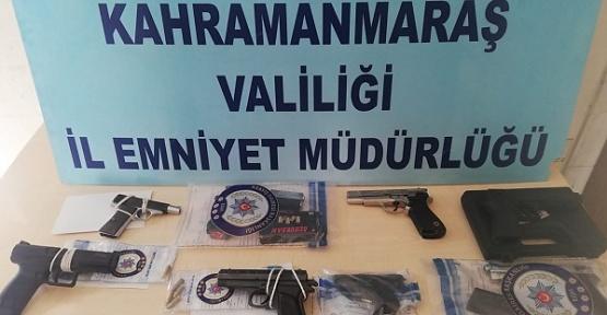 Kahramanmaraş'ta 29 Silah Ele Geçirildi